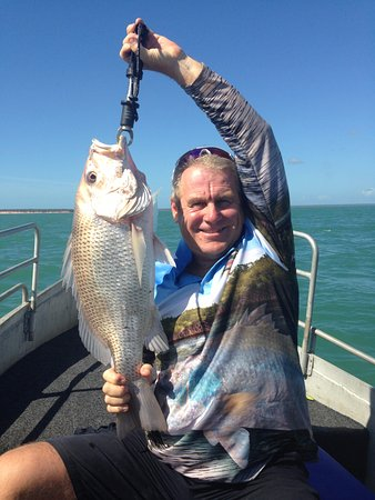 Melville Island, Australia: One of many snapper caught over the weekend!