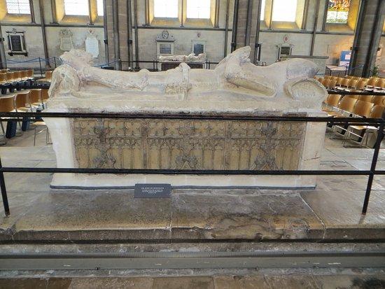 Salisbury, UK: One of many tombs