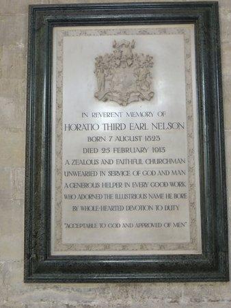 Salisbury, UK: Horatio Nelson