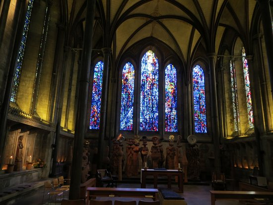 Salisbury, UK: For those who admire stained glass windows