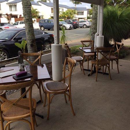 Noosaville, أستراليا: outside dining