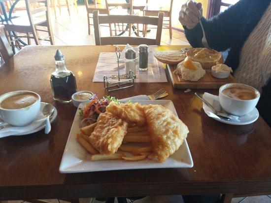 Foxton, Yeni Zelanda: Great food and excellent service.