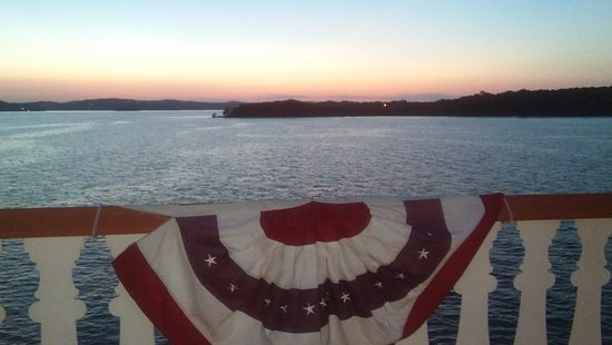 Showboat Branson Belle: View from the boat