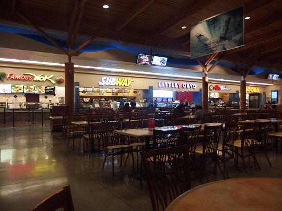 Marysville, Вашингтон: Seattle Premium Outlets (food court)