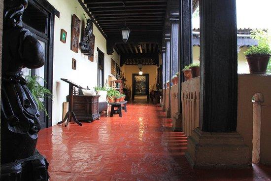 Hotel Mansion Iturbe: Pasillo de habitaciones