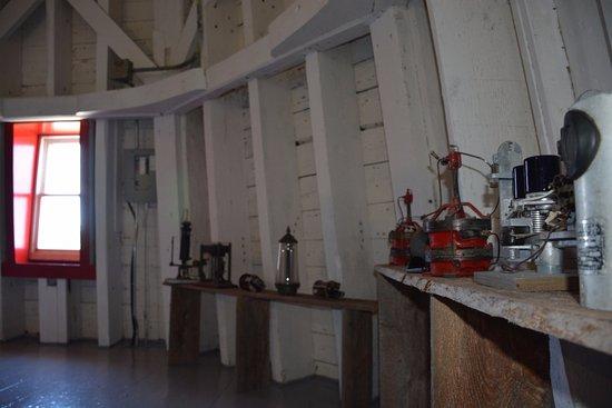 Elmira, كندا: Inside the East Point Lighthouse