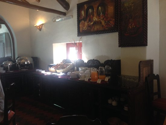 Hotel Munay Wasi: Breakfast buffet