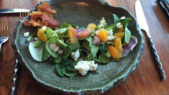 Post Ranch Inn: the salad