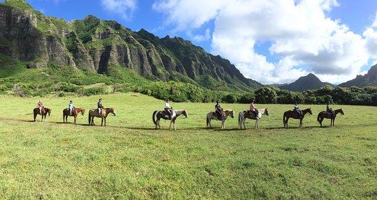 Kaneohe, Χαβάη: ジュラシックパークの映画の山