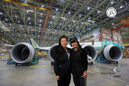 Mukilteo, Etat de Washington : Boeing!