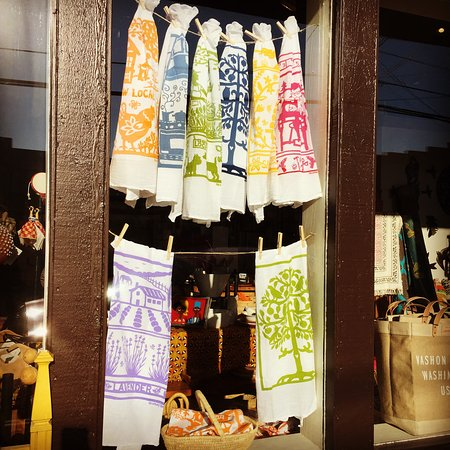 Vashon, Ουάσιγκτον: new flour sack dish towels