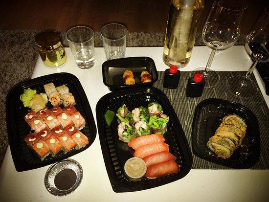 lucky sushi greve menu