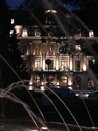 Hotel Metropole Geneve: Из парка