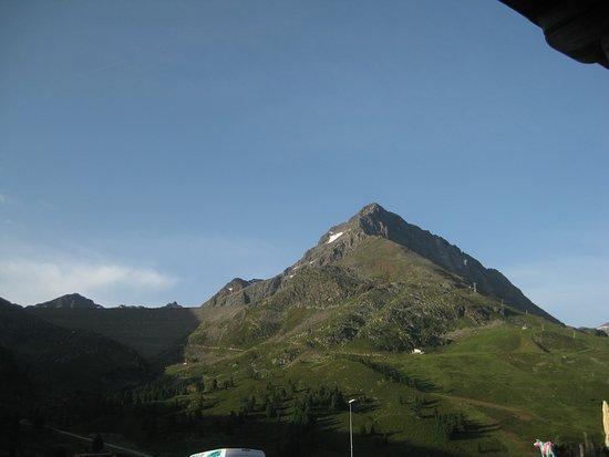 Kuhtai, Austria: Aussicht von der Stube