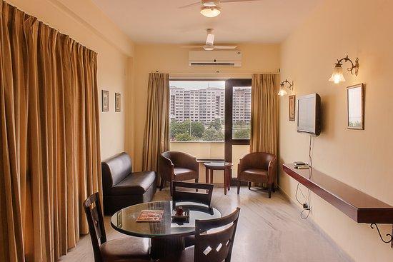 Enkay Residency V Block : King Size Living Room