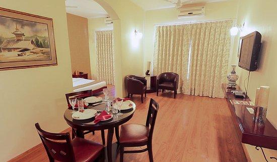 Enkay Residency V Block: King Size Room Living Room