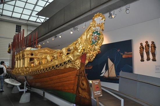 National Maritime Museum : La barca del principe Federico