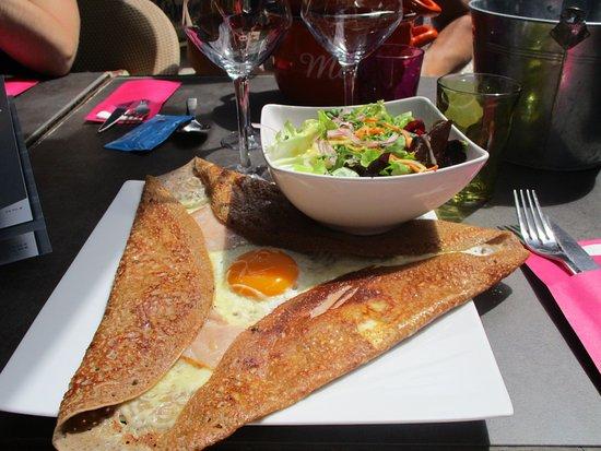 Damgan, Γαλλία: crèpe bretonne, simple mais tout y est.
