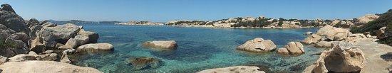 La Maddalena, Itália: cala carlotto, splashfun de luxe