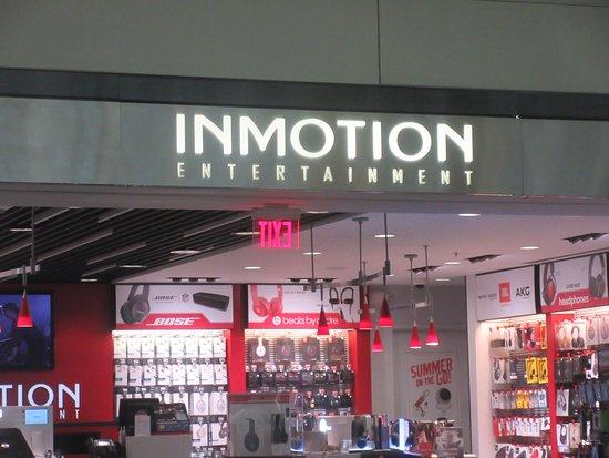 InMotion Entertainment, SFO International Terminal, South San Francisco, Ca