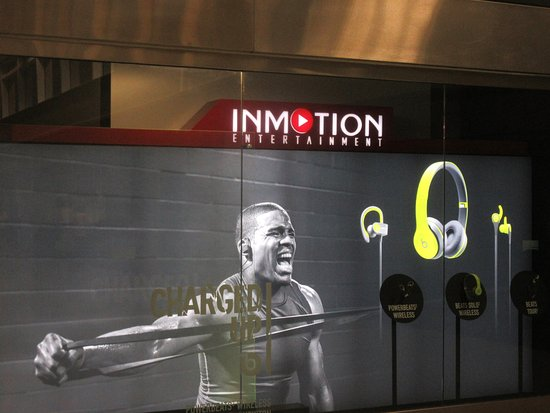 San Bruno, CA: InMotion Entertainment, San Francisco Airport, International Terminal, South San Francisco, Ca