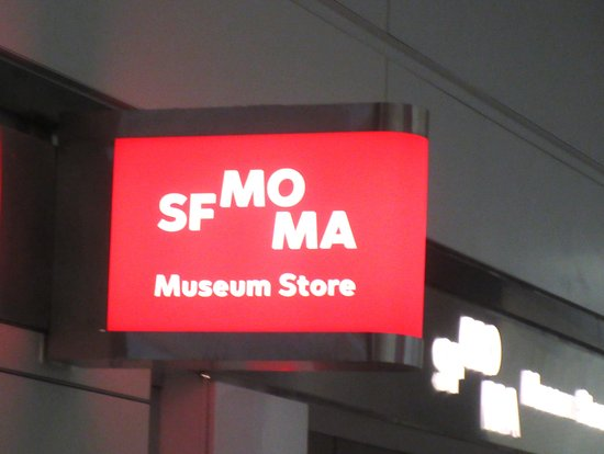 San Bruno, CA: SFMOMA Museum Store, International Terminal,, San Francisco Airport