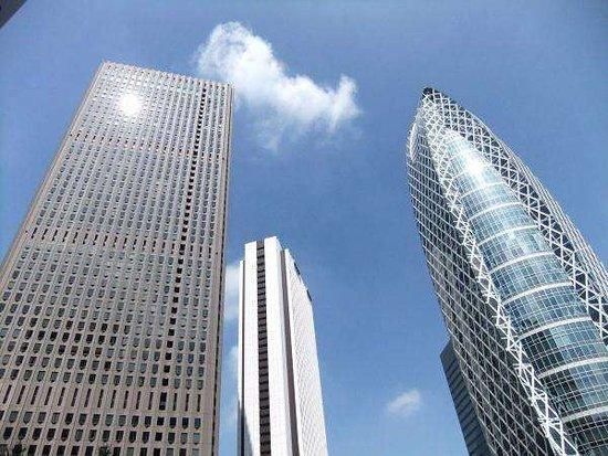 APA Hotel Higashi Shinjuku Ekimae: 都庁