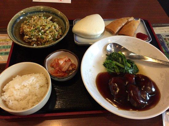 Toyonaka, Japonya: 凝った中華