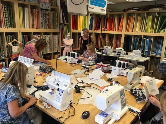 Karelia House: Our Our Craftroom is always busy with a variety of craft courses