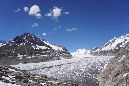 Aletsch glacier up close