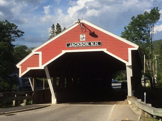 Jackson, NH: This bridge is close by the Inn