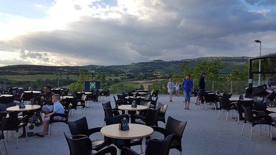 Terrasse Du Restaurant Picture Of Camping Le Pommier Ciela