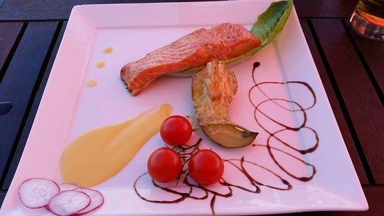 Haapsalu, Estônia: Grilled water melon was a nice suprice!