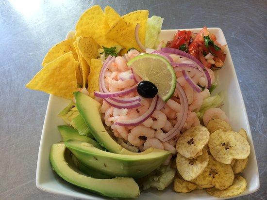 New Romney, UK: Ecuador special dish