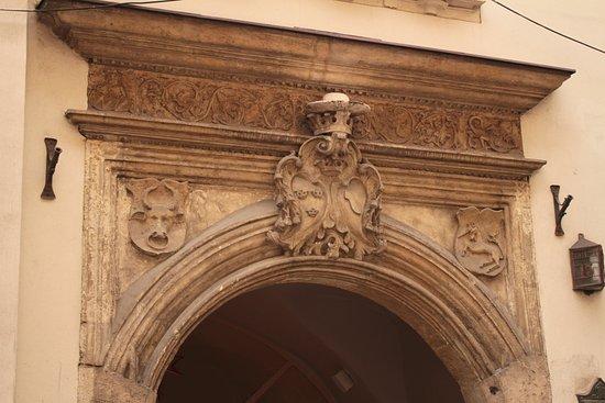 Ulica Kanonicza: Portail décoré bis