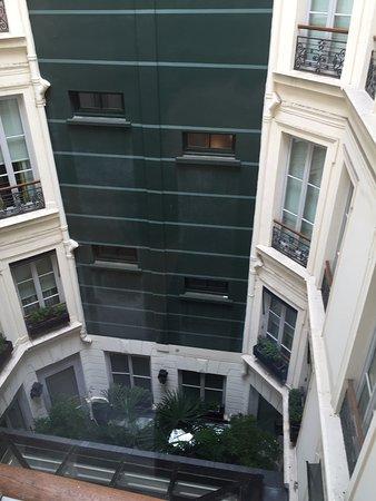 Hotel Keppler: Vue sur cour