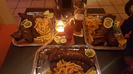 Rossdorf, Germany: Spare Ribs... einfach lecker!