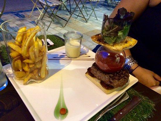 Les Rousses, فرنسا: Carte Menu Tarif Hamburger