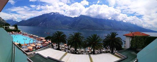 Hotel Ideal: panoramica dalla camera palazzina Silvia