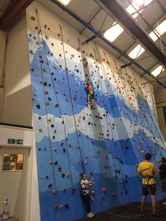 Boulders Indoor Climbing Centre : Fun climbing