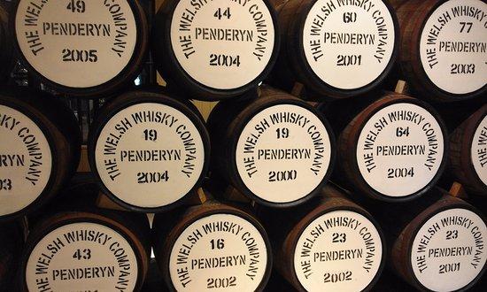 Penderyn, UK: Barrells