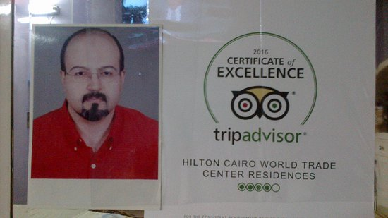 Hilton Cairo World Trade Center Residences: It's a great honor choosing me with your respectable team members