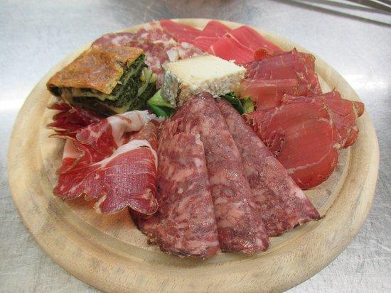 Gravedona, Italien: Antipasto rustico