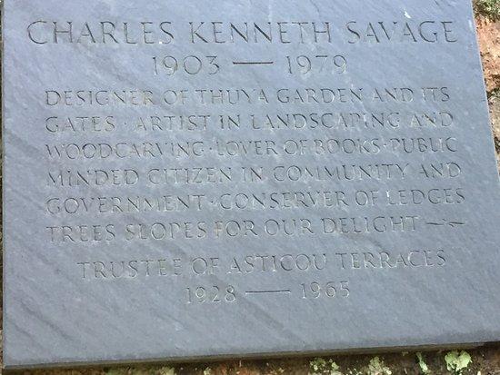 Northeast Harbor, ME: plaque