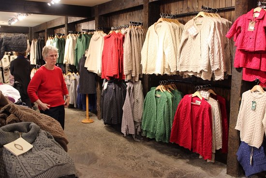 Aran Sweater Market Kilronan Aran Islands Ireland July 2016