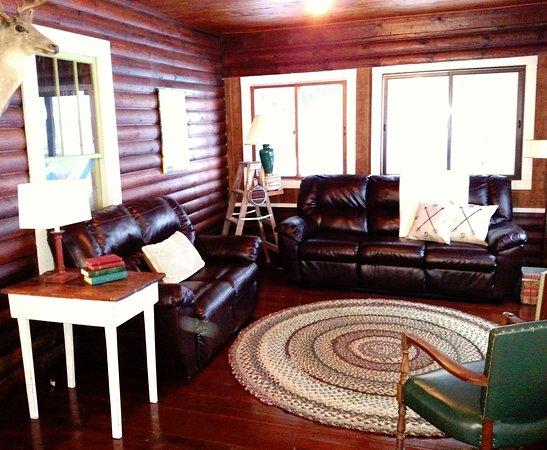 Chetek, Ουισκόνσιν: Interior of Lodge