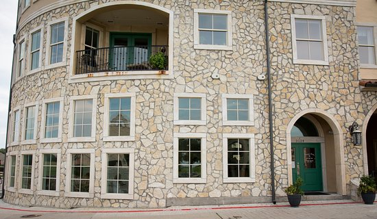 McKinney, TX: Exterior, somewhat tucked away in the Adriatica development.