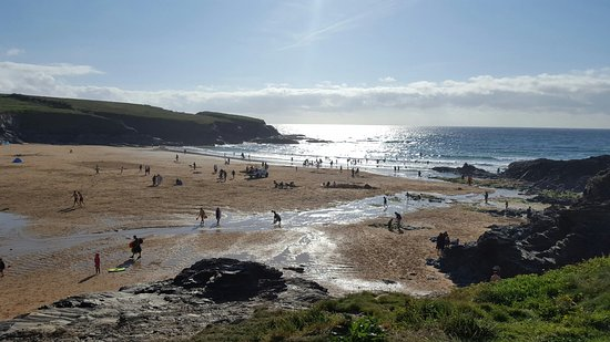 Treyarnon Bay Beach