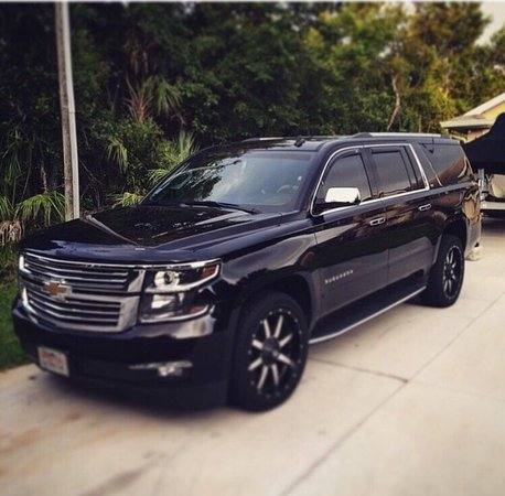 Маунтин-Вью, Калифорния: Our Fleet: Chevrolet Suburban SUV