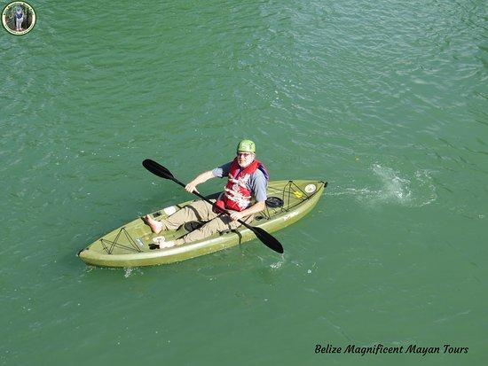 Belize Magnificent Mayan Tours : Bzmtours Kayaking
